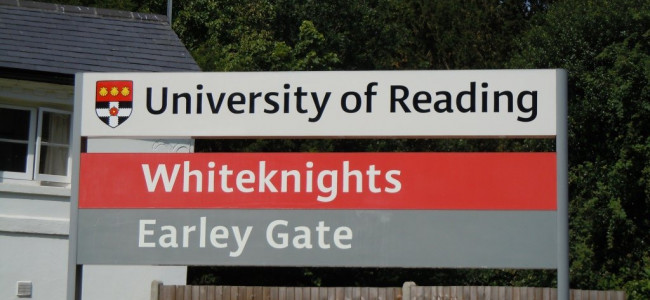 Record student intake at University of Reading bucks national trend