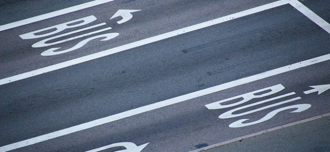 First Section of New A33 Bus Lane Opens