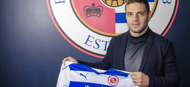 Reading Football Club Sign Popa