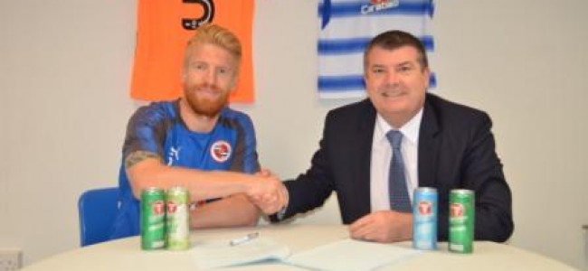 Paul McShane signs extension to stay at ReadingFC until 2019