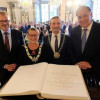 Dusseldorf and Reading Twinning Cemented With Ceromony