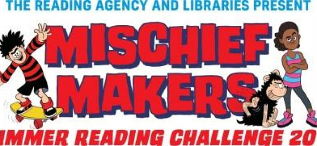 Mischief Makers at Reading Libraries this Summer