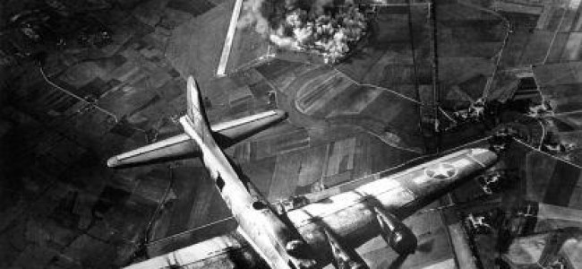 WWII Bombing Raids Felt At Edge Of Space According To Reading University Research
