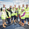 Conwy Close, Flagship Council Housing Development Topping Out Ceromony