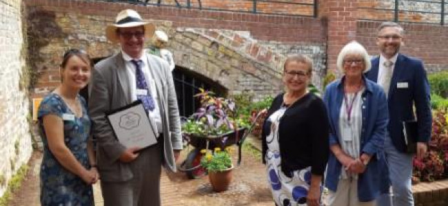 Silver Gilt Award for Reading In Bloom 2018