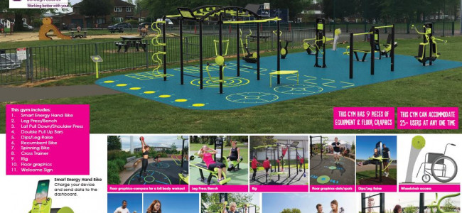 Winning Design for New Outdoor Gym in Coley Announced