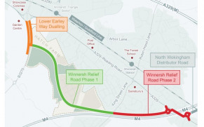 Lower Earley Way, Major Highways Project, Is Expected To Finish Two Months Ahead Of Schedule
