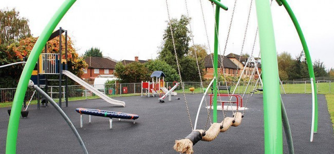Ivydene Playground Portman Road in Reading Reopens