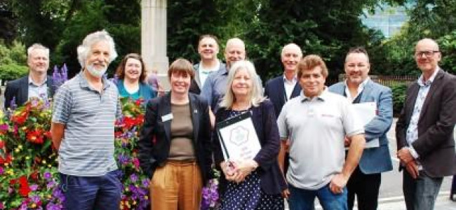 Britain In Bloom Gold For Reading