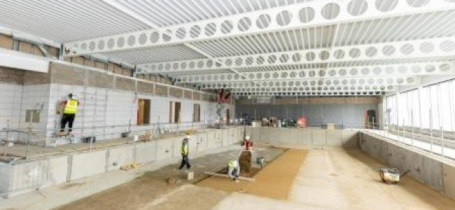 Bulmershe Leisure Centre Works Update