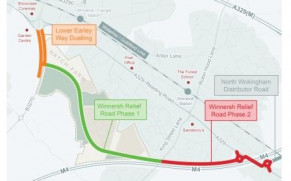 Lower Earley Showcase Roundabout Roadworks Now Complete