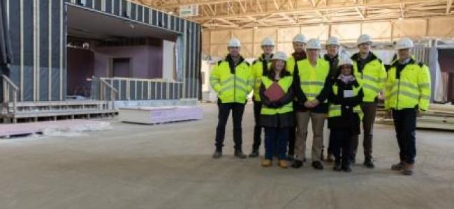 Addington School Building Works Taking Shape
