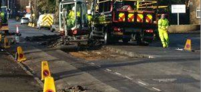 Reading's Biggest Ever Road Repair Programme to be Delivered in Full