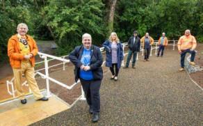 Riverside Park in Earley, Receives Upgrades