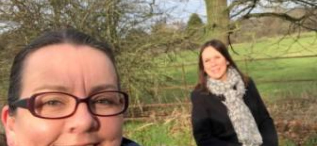Friends Complete January Challenge For Sue Ryder  Hospice in Reading