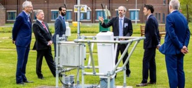 UAE Ambassador Visits University of Reading Rain Scientists
