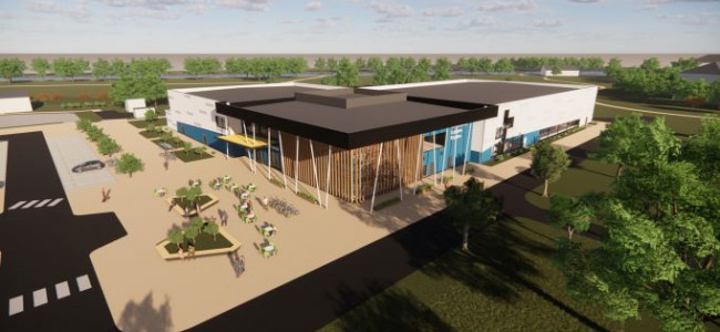 Rivermead Swimming Pool & New Leisure Centre Construction Starts Today