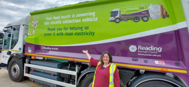 Reading Gets Its First Electric Waste Collection Vehicle