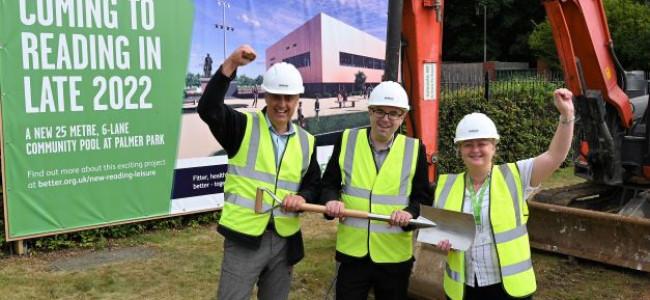 Palmer Park Swimming Pool Construction Begins