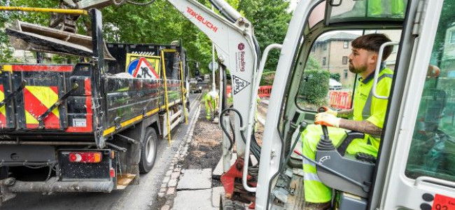 Reading £9 Million Road Resurfacing Programme Starts