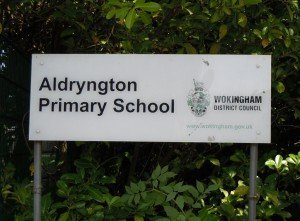 aldryngton school sign