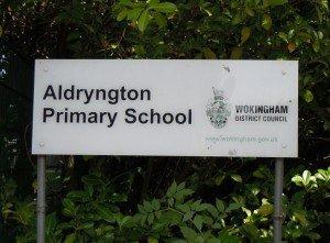 aldryngton school sign
