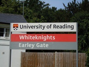 pic 2 - reading university sign
