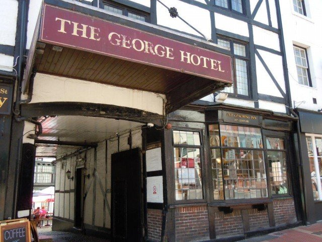Reading History - George hotel