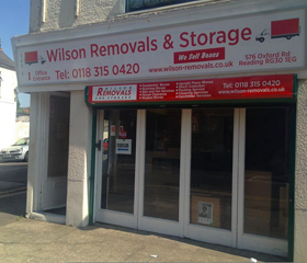 Wilson Removals Reading