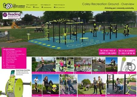 Outdoor Gym in Coley