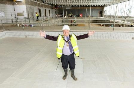 Bulmershe Leisure Centre Works