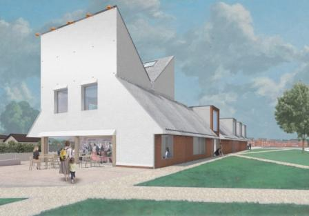Shinfield Community Hub - Artist Impression