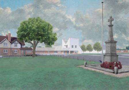 Shinfield Community Hub - View