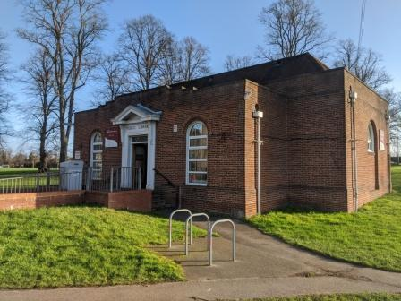 Palmer Park Library in reading