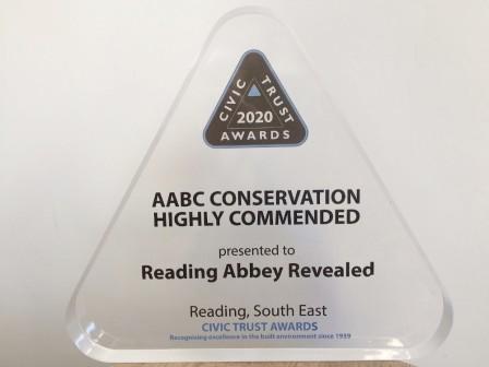 Reading Abbey Award