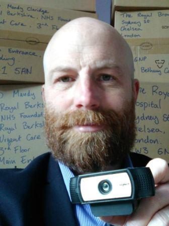 Hospital Webcam Donation