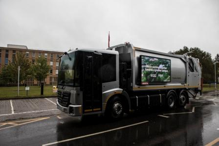 Electric Waste Vehicle Trial - Reading University