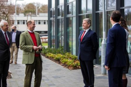 The Earl of Wessex Visits Reading