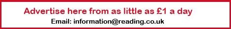 Advertise on reading.co.uk