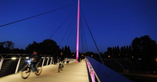 Christchurch Bridge in Reading