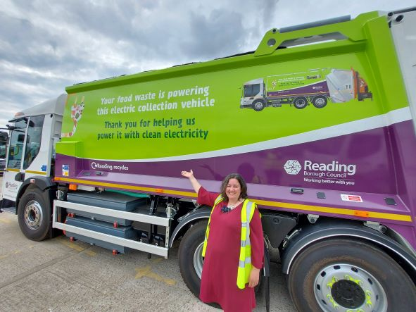 Reading Electric Waste Collection Vehicle