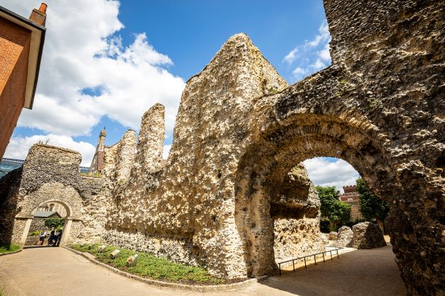 Reading Abbey - Burial Site of Henry I