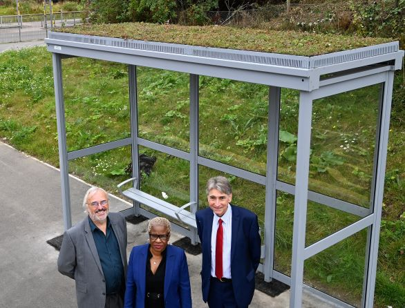 Reading Living Bus Shelters